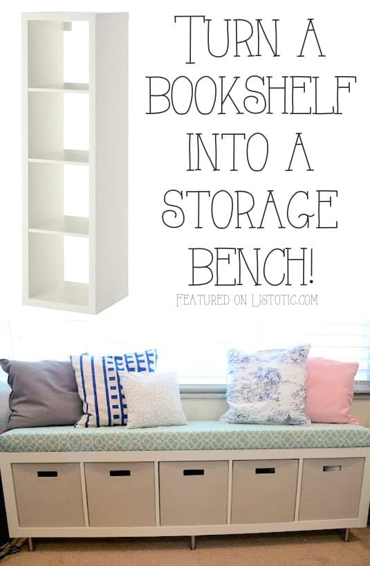 20+ easy & creative furniture hacks (with pictures) Cute Storage Ideas