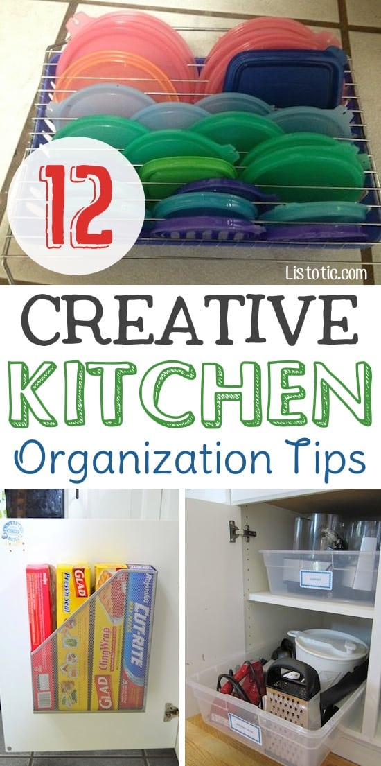 12 easy kitchen organization ideas for small spaces (diy and dollar Kitchen Organization Ideas