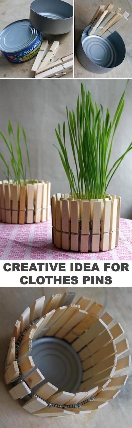 And Easy Project Idea Using Clothes Pins Diy Craft Ideas For