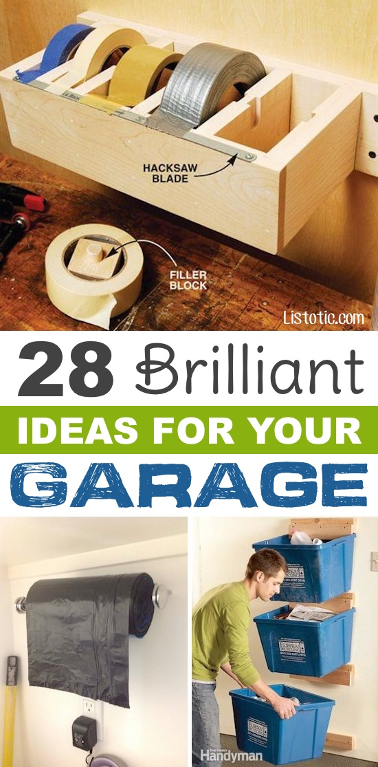 garage organization ideas - 28 Brilliant Garage Organization Ideas With
