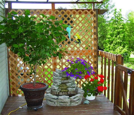 13 Attractive Ways To Add Privacy Your Yard U0026 Deck With Lots Of Pictures