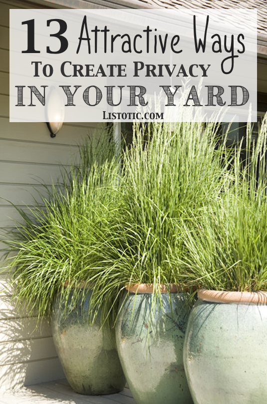How To Easily Add Privacy A Yard Deck Or Patio Listotic
