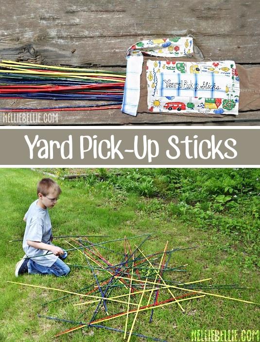Pick Up Sticks, Backyard Games