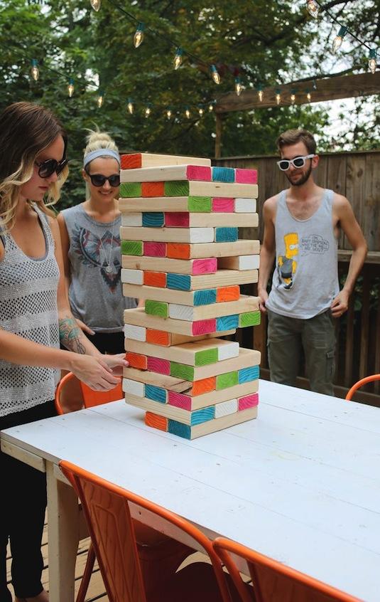 Jenga, Backyard Games
