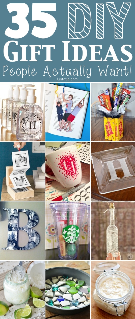 Easy Diy Gift Ideas For Christmas Birthdays Boyfriends Friends Family