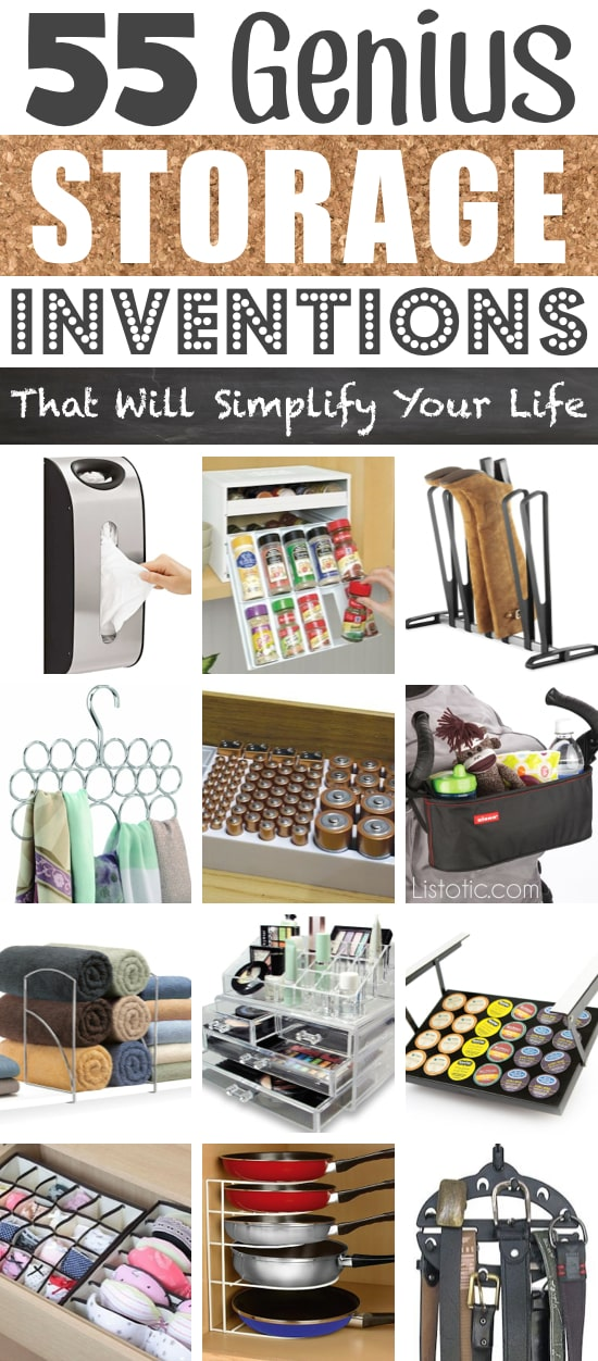 55 clever storage ideas that will make you super happy (and organized!)