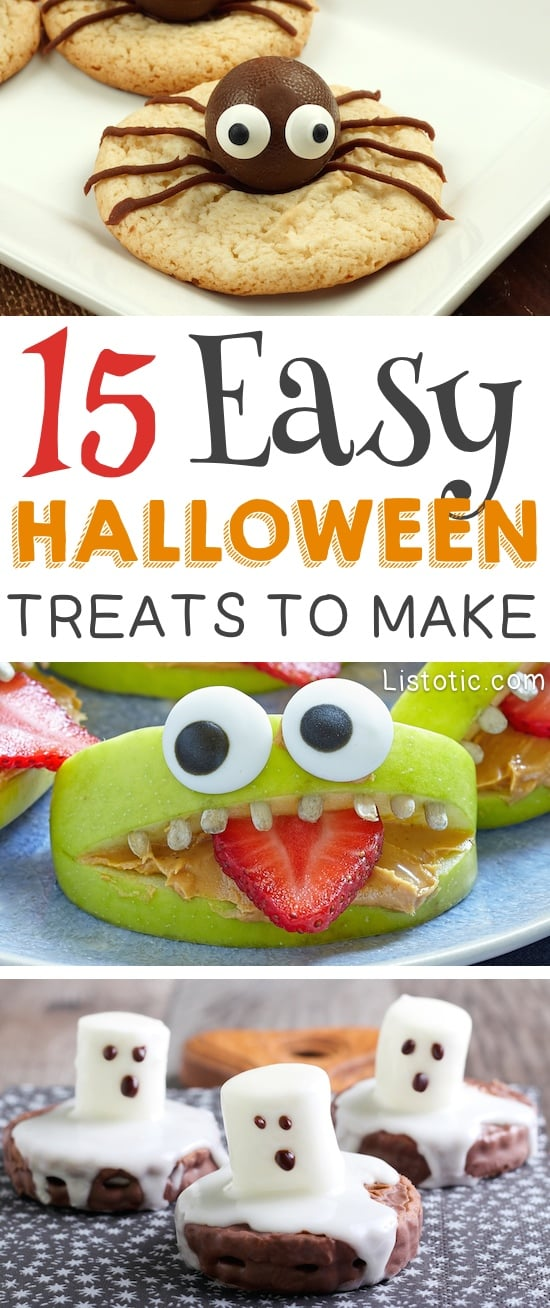Super Cute And Easy Treats For Kids Perfect School Parties