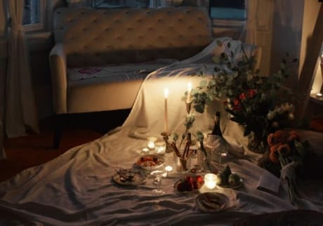 8 Easy Stay at Home Date Night Ideas for Couples - Listotic Surprise Romantic Night At Home